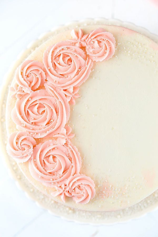 "<strong>Get the <a href=""http://www.lifeloveandsugar.com/2017/01/25/rose-water-vanilla-layer-cake/"" target=""_blank"">Rosewater"