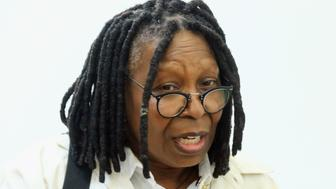 JERSEY CITY, NJ - SEPTEMBER 22:  Whoopi Goldberg speaks during a press conference for the exhibit Marilyn: Character Not Image curated by Goldberg at Mana Contemporary on September 22, 2016 in Jersey City, New Jersey.  (Photo by Jim Spellman/Getty Images)