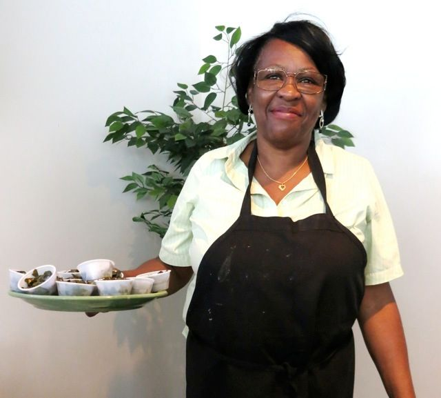 Velma Johnson, chef-owner Mama J's, Richmond VA
