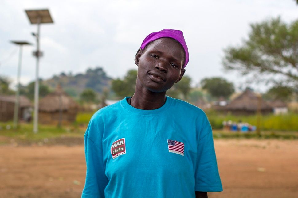 "Susan Agull, from Juba, who has six children. ""Women bring peace among themselves."""