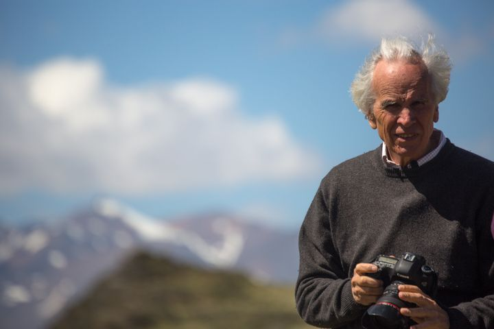 Doug Tompkins, co-founder of The North Face and Esprit clothing brands, in Patagonia National Park, Chile, in December 2014.