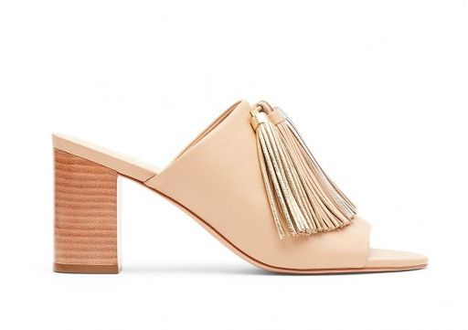 "The blush color, tassel and moderate heel makes this pair appropriate for work and a night out.<br><br><a href=""http://www.lo"