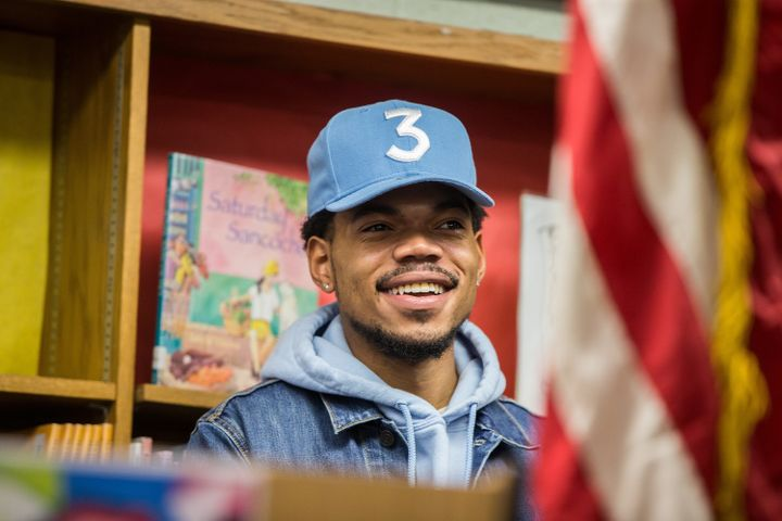 Chance the Rapper loves the kids.