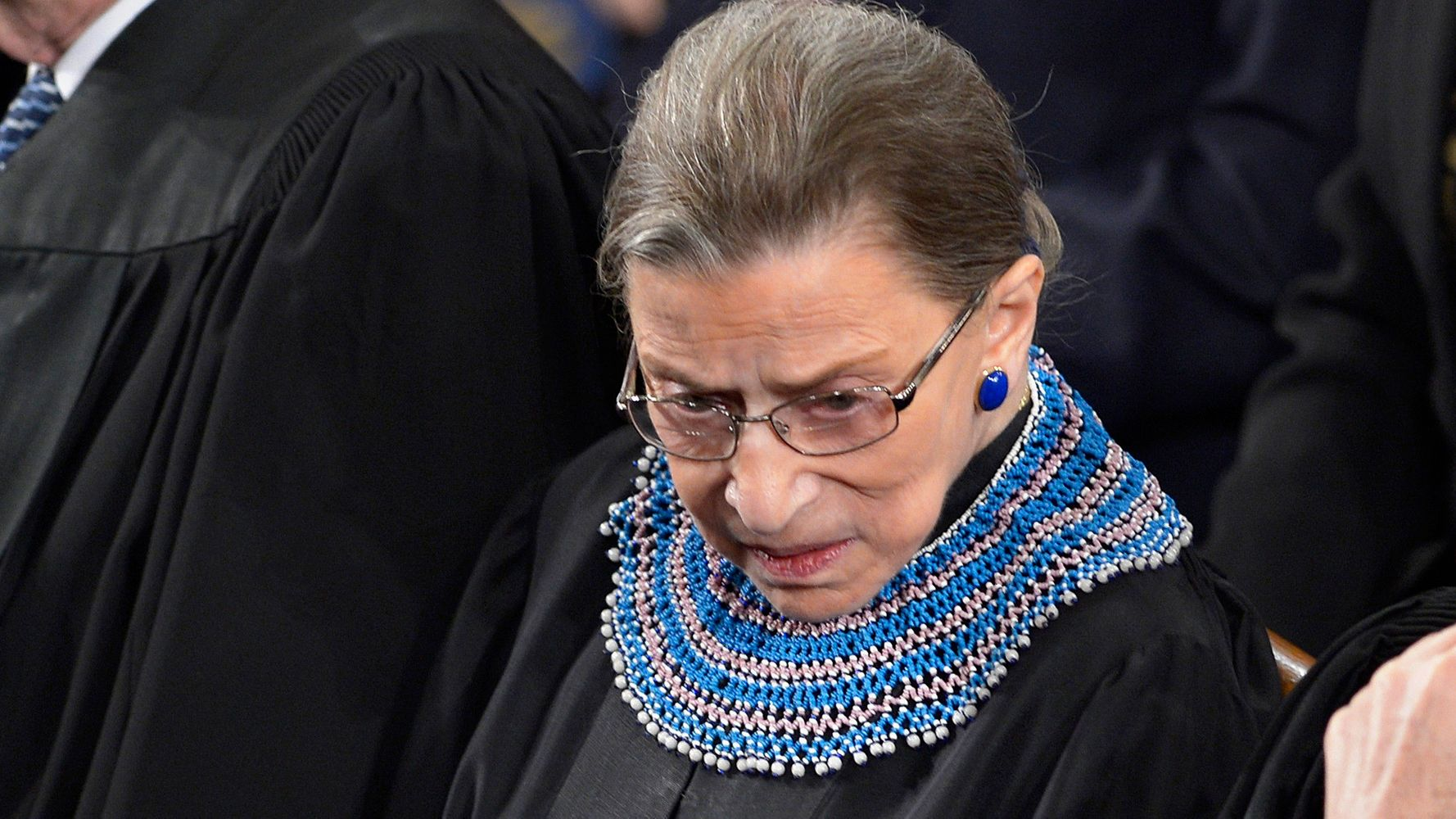 No One Can Object That Ruth Bader Ginsburg's Collars Are On Point    HuffPost Life