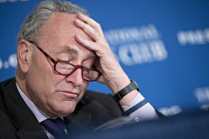 Sen. Chuck Schumer (D-N.Y.) has not heard from Donald Trump on Obamacare reform.