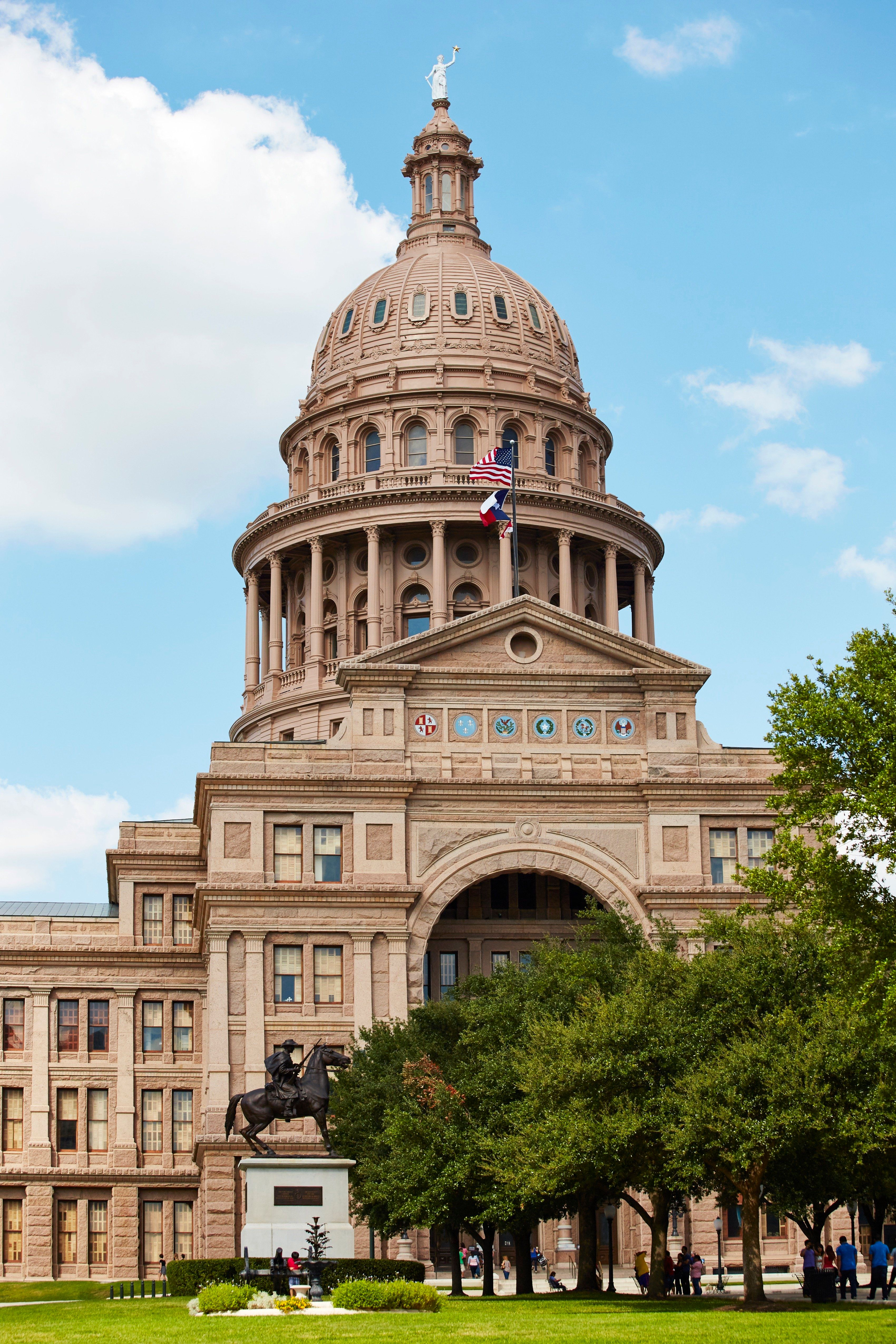 State Capitol Building in Austin, Austin, America. (Photo by: Loop Images/UIG via Getty Images)