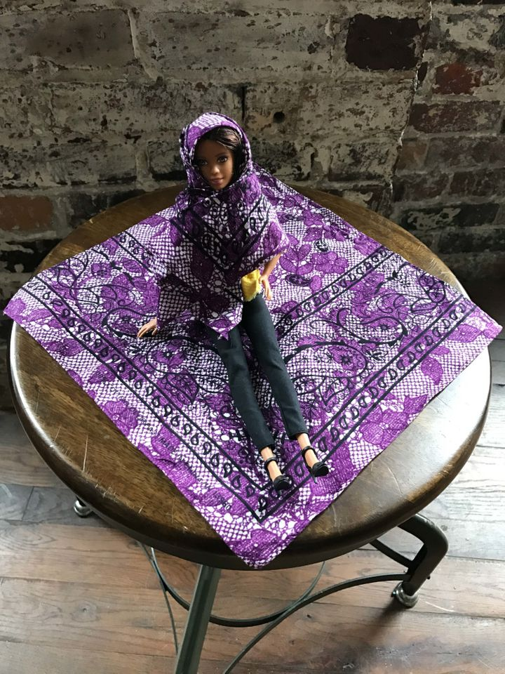 A sample of a Hello Hijab scarf.