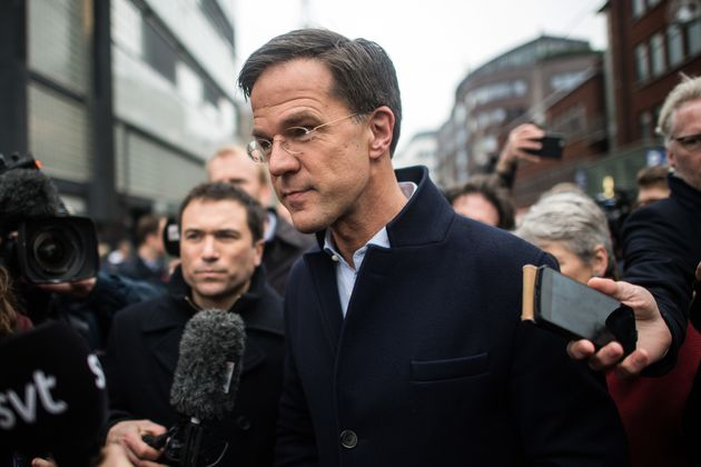 Mark Rutte'sPeople's Party for Freedom and Democracy remains the biggest party in the