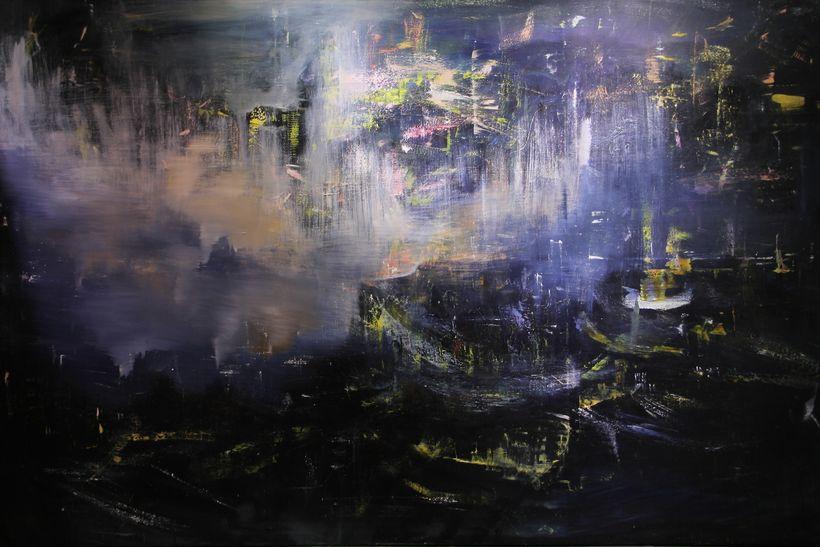 <em>Eventide Shanghai</em>, 293 x 188cm