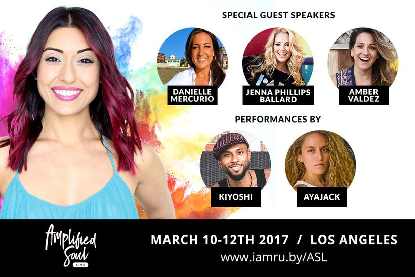 Ruby Fremon hosted Amplified Soul Live along with these special guest speakers and entertainers. Get on the list for the next