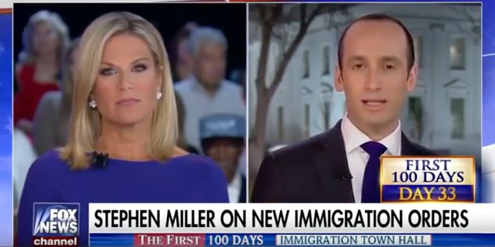 In a Feb. 21 appearance on Fox News, President Donald Trump's policy adviser Stephen Miller defended Trump's second exec