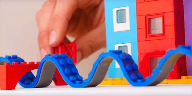 This Incredible 'Lego Tape' Lets You Build On Any