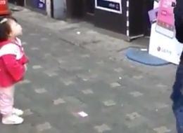 Adorable Little Girl Doesn't Quite Understand How Mannequins Work
