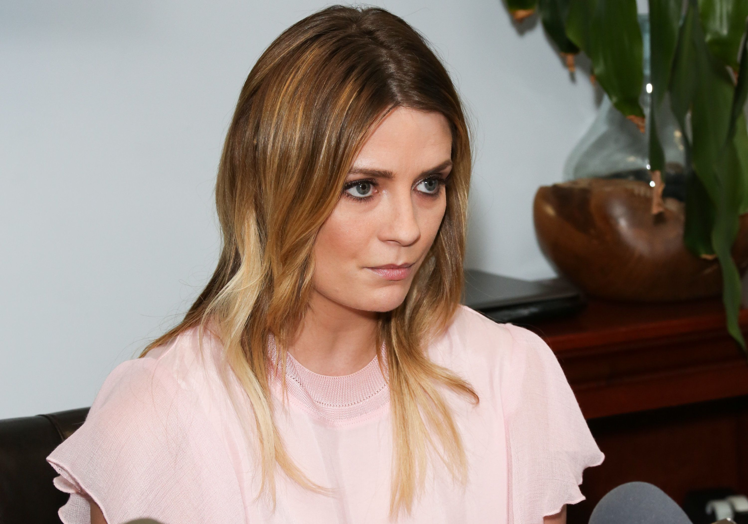 WOODLAND HILLS, CA - MARCH 15:  Actress Mischa Barton and her Attorney Lisa Bloom hold news conference on March 15, 2017 in Woodland Hills, California.  Barton and her attorney held the conference to address the legal action they are taking against a former boyfriend and a sex tape that allegedly features the actress.  (Photo by Paul Archuleta/Getty Images)