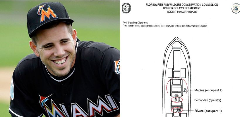 Florida Fish & Wildlife Conservation report shows that Jose Fernandez was driving his boat late at night, when he piloted int