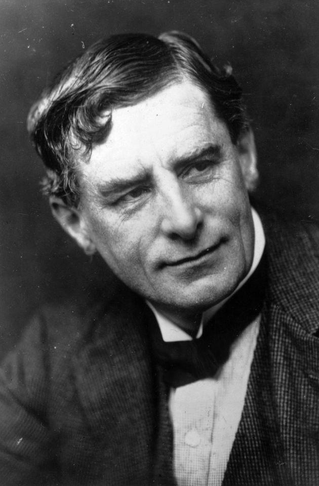 British impressionist painter Walter Sickert (1860 -