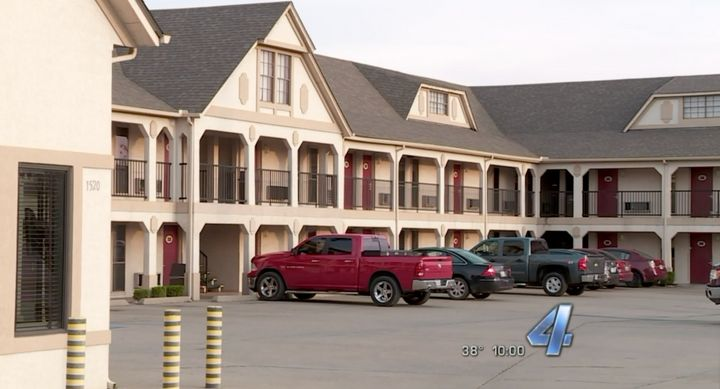 Oklahoma State Sen Ralph Shortey, 35, is accused of soliciting a 17-year-old boy for sex at this motel last week.