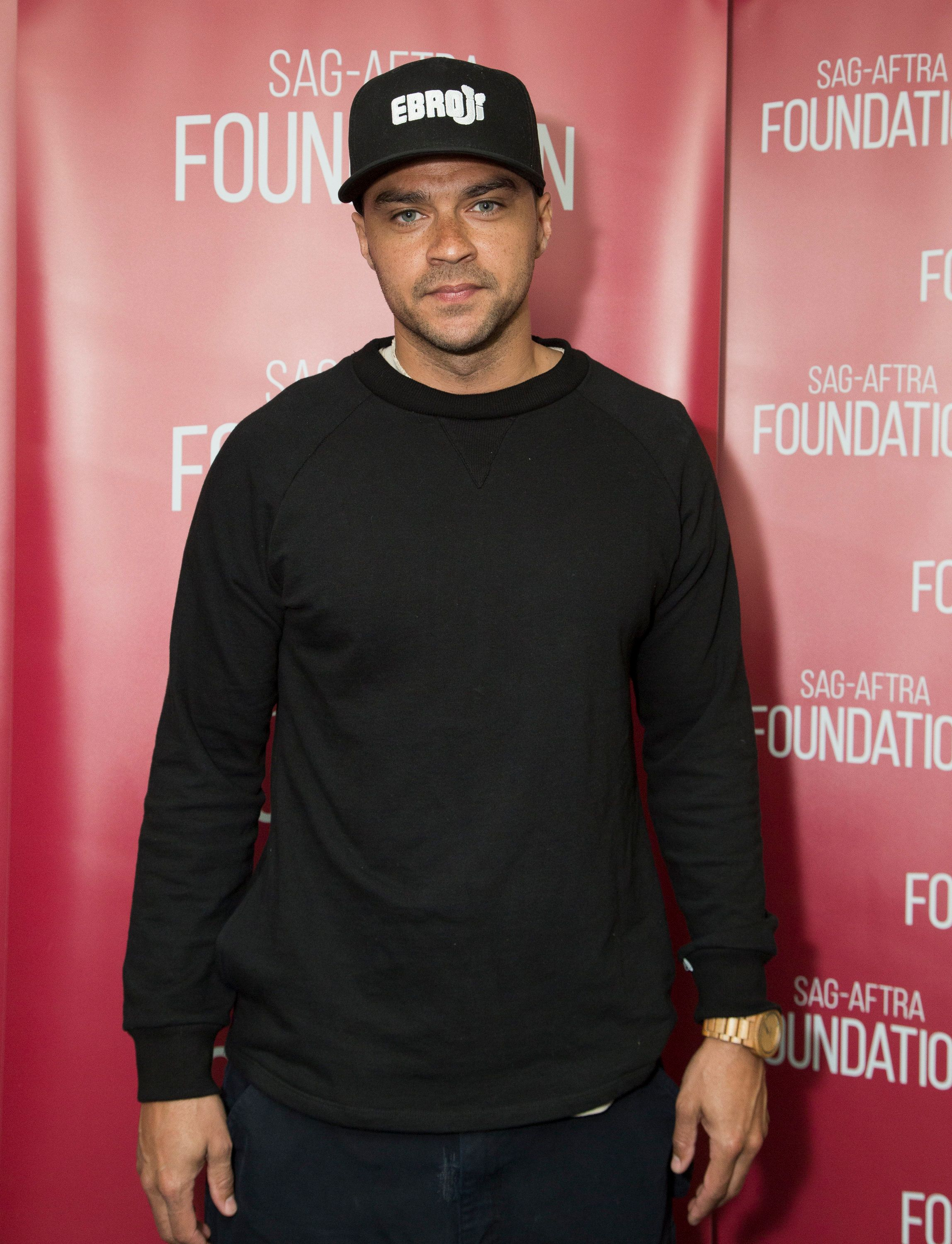 LOS ANGELES, CA - MARCH 13:  Actor Jesse Williams attends SAG-AFTRA Foundation's Conversations with 'Grey's Anatomy' at SAG-AFTRA Foundation Screening Room on March 13, 2017 in Los Angeles, California.  (Photo by Vincent Sandoval/Getty Images)