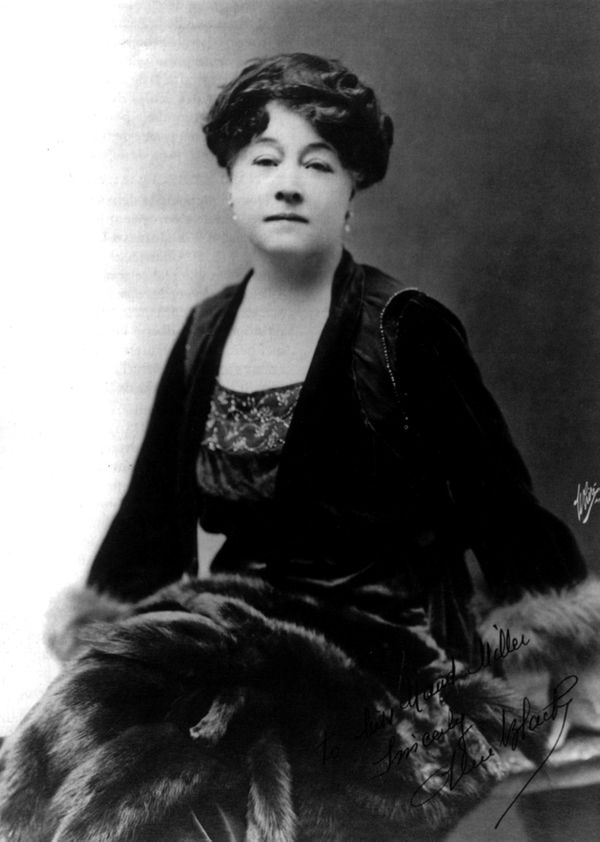 Alice Guy made over 100 films in the early 1900s before marrying the manager of the production studio she worked for, a man n