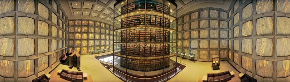 Thomas R. Schiff, Beinecke Rare Book and Manuscript Library, Yale University, New Haven, Connecticut, from The Libr