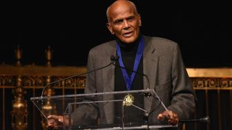 NEW YORK, NY - MARCH 15:  Musician Harry Belafonte receives The Lifetime Achievement Award onstage during the Jefferson Awards Foundation 2017 NYC National Ceremony at Gotham Hall on March 15, 2017 in New York City.  (Photo by Bryan Bedder/Getty Images for Jefferson Awards Foundation)