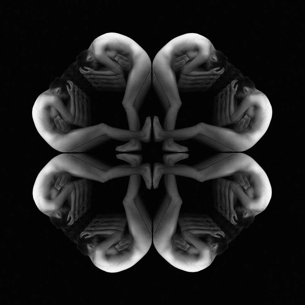 Black-And-White Photographs Transform Nude Bodies Into Hypnotic Tessellations  Huffpost-3362