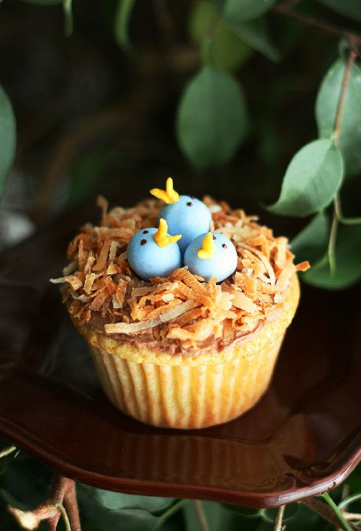 "<strong>Get the <a href=""http://www.cookingclassy.com/birds-nest-cupcakes/"" target=""_blank"">Bird's Nest Cupcakes recipe</a>&n"