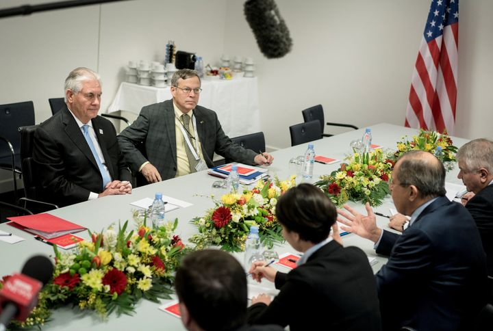 Secretary of State Rex Tillerson has attended international meetings with smaller staffs than usual. Experts say other powers could read into that.