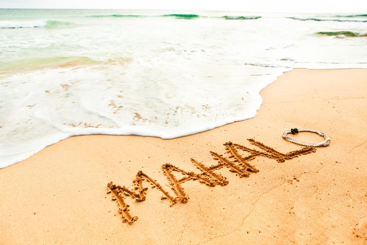 "Mahalo means ""thank you"" in Hawaiian."