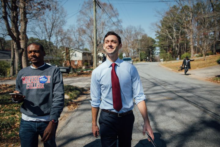 Democratic congressional candidate Jon Ossoffis hoping to win a traditionally Republican district thanks to local voter