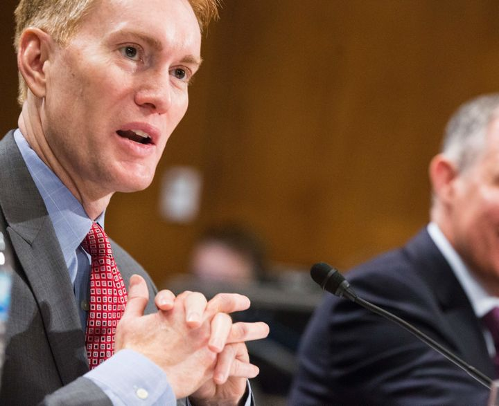 Sen. James Lankford (R-Okla.) looks for bipartisan support for his package of bills on the regulatory process.