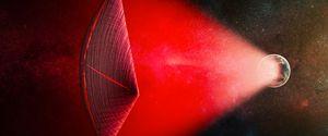ALIEN LIGHT SAIL FAST RADIO BURSTS ET TECHNOLOGY