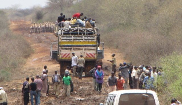 The Isiolo-Moyale Road-Before