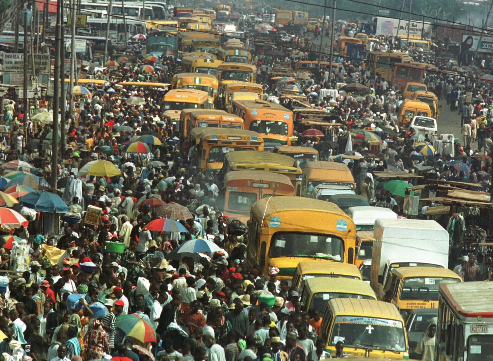 Lagos, Africa's most populous city, is in the midst of a major water