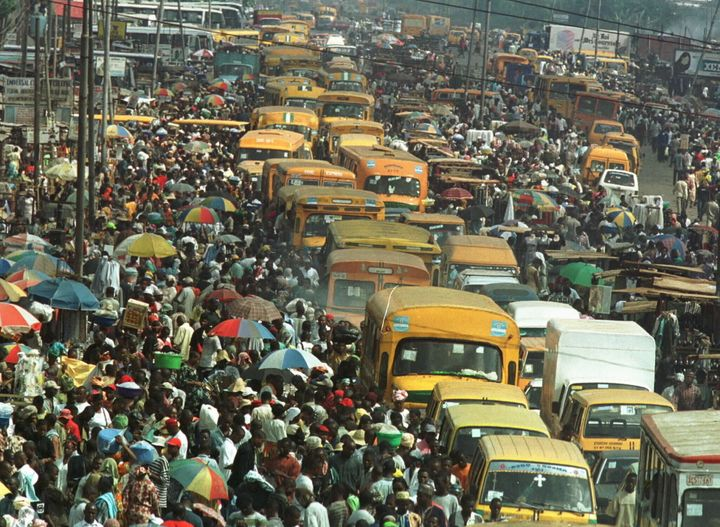Lagos, home to 21 million people, is Nigeria's and Africa's most populous city. Water shortages, fueled in part by&nbsp;<a hr