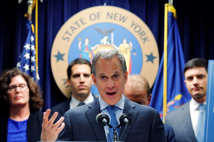 "Attorney General <a href=""http://www.huffingtonpost.com/news/eric-schneiderman/"" target=""_blank"">Eric Schneiderman</a> indica"