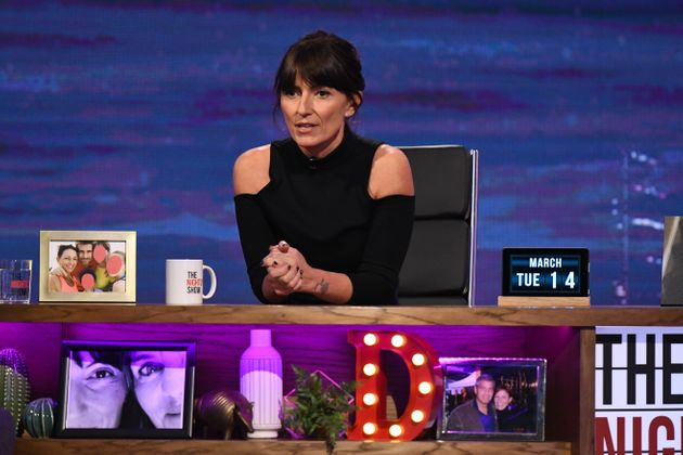 Davina McCall was also one of the guest