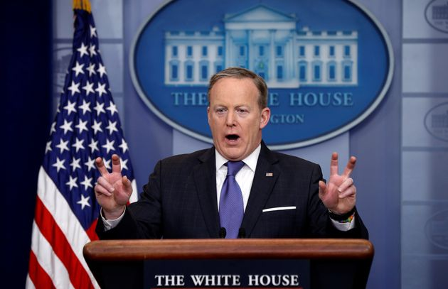 Sean Spicer and his now infamous