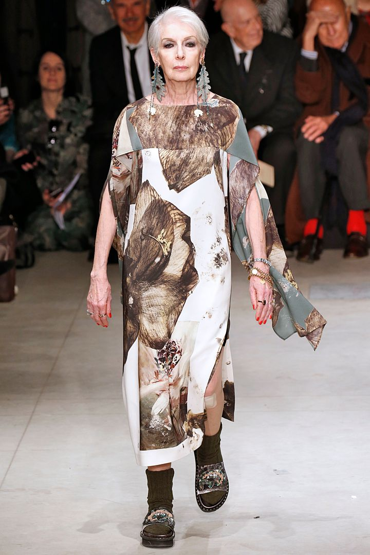 Over 50 and fabulous at Antonio Marras.