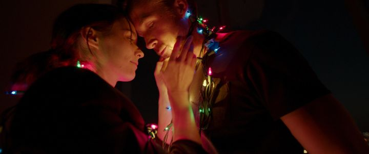 "Rooney Mara and Ryan Gosling star in a scene from ""Song to Song."""