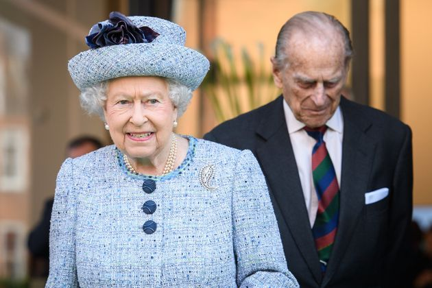 Queen Elizabeth II and Prince Philip in March