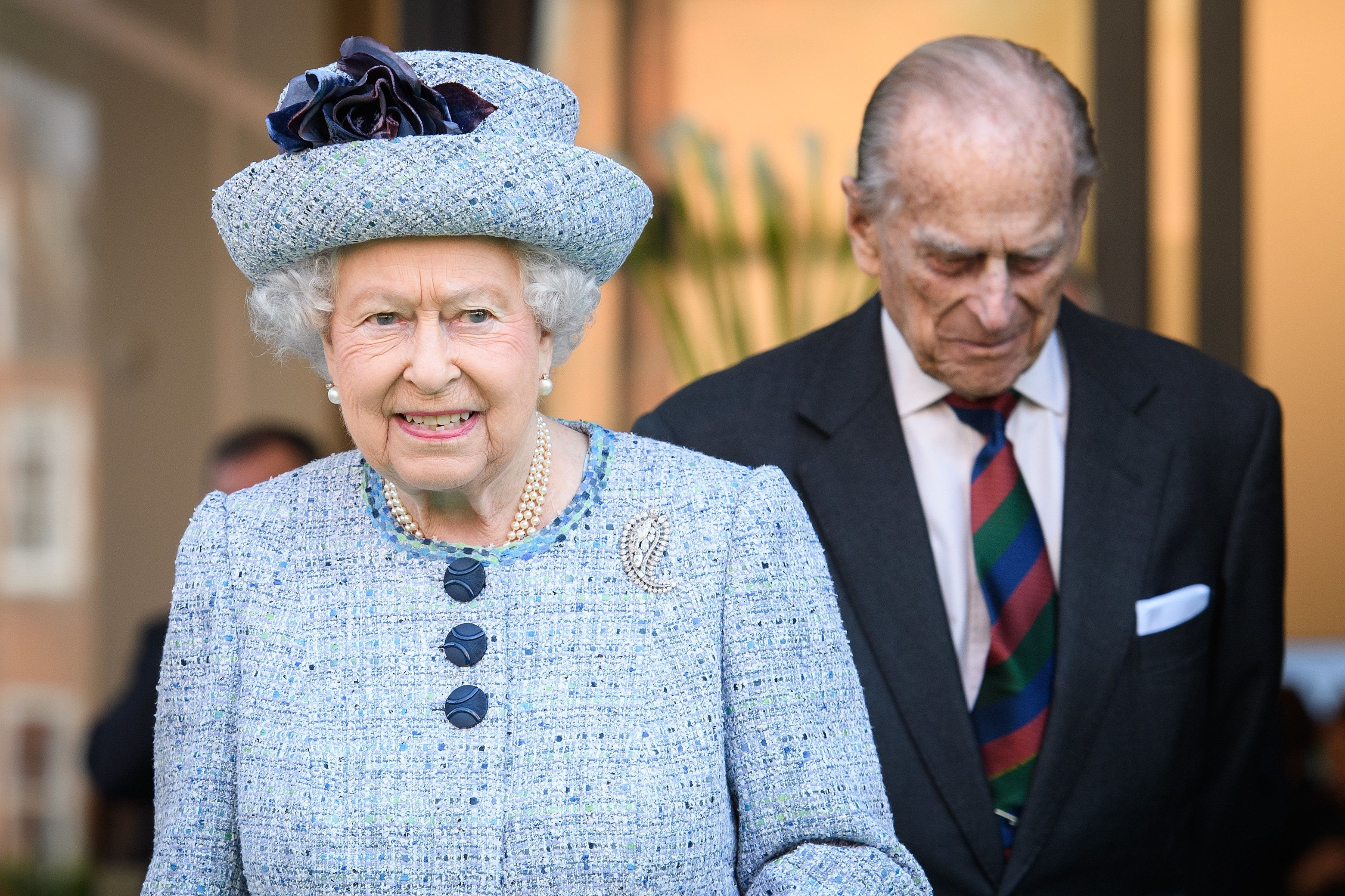 Queen Elizabeth II and Prince Philip in March 2017.