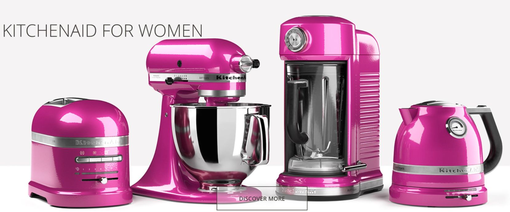 KitchenAid Called 'Sexist' For Advertising Pink Cooking Appliances 'For