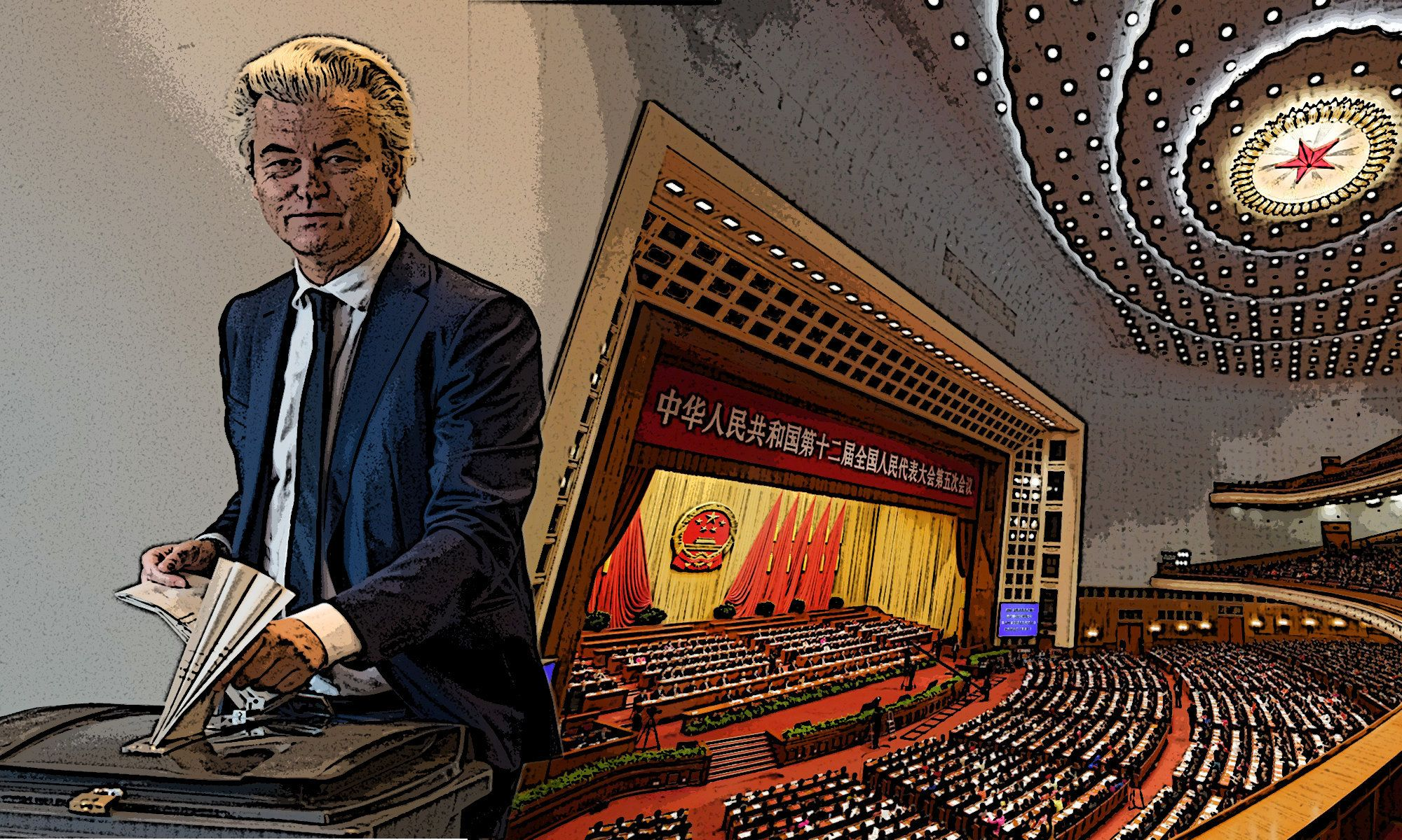 China's biggest annual political gathering wraps up as the Dutch vote in a crucial election.