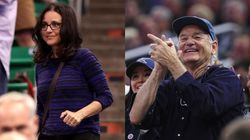 Bill Murray And Julia Louis-Dreyfus Go Full-On Proud Parents At Kids' NCAA