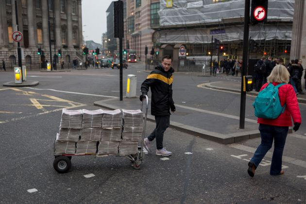 The Evening Standard has a circulation of up to 900,000 copies a