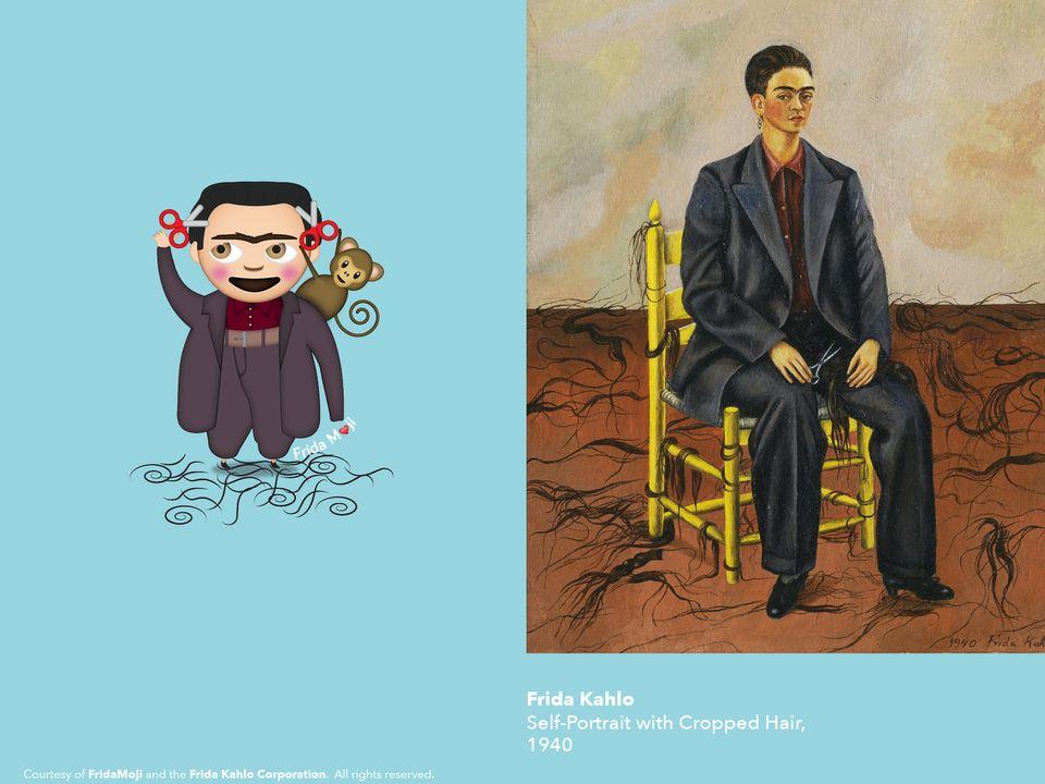 Los rostros de Frida Kahlo serán 'emojis', o mejor dicho,
