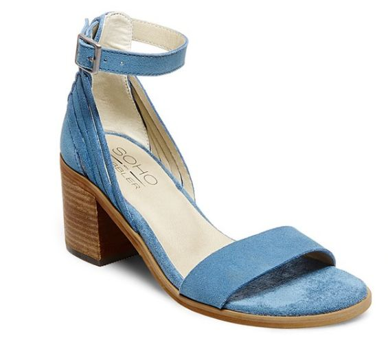 """A sturdy two-inch stacked heel is just enough to give you lift without sacrificing comfort.<br><br><a href=""""http://www."""