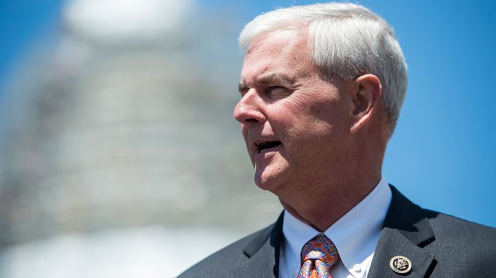 Rep. Steve Womack (R-Ark.) is one of the lawmakers unhappy at the cuts to discretionary spending in Trump's budget.