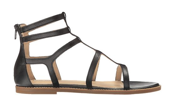 """This casual gladiator sandal by Hush Puppies has soft leather straps and is available in <a href=""""http://www.zappos.com/p/hus"""